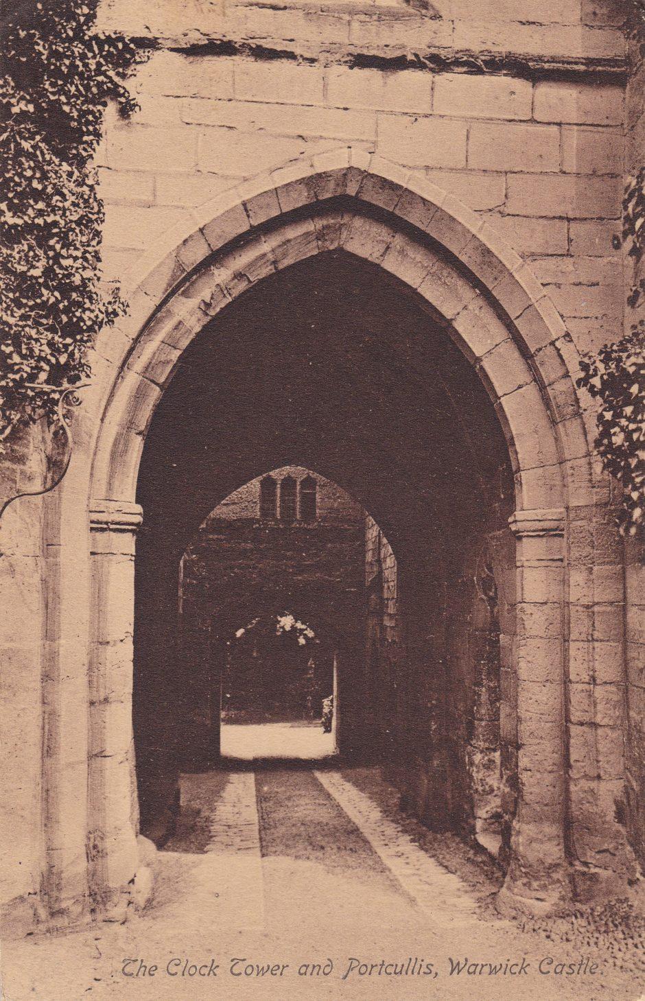 Warwick Castle Clock tower