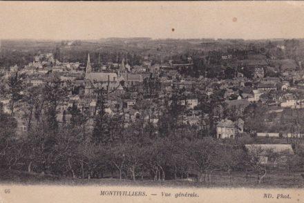 Montivilliers - Postcard