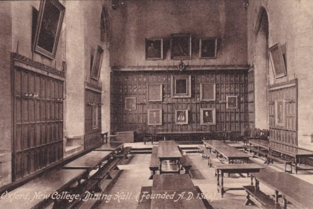 Oxford New College Dining Hall